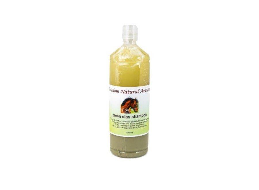F.N.A. groene leem shampoo 1000 ml