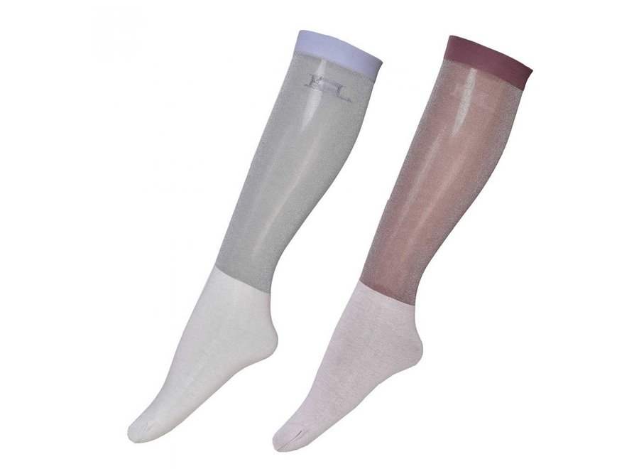 KL Leyna Glitter Show Socks per 2 paar