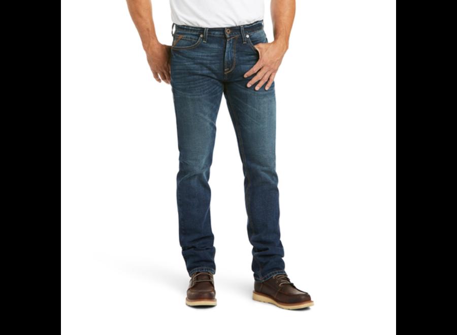 M8 Modern Stretch Rial Straight Jeans Denali