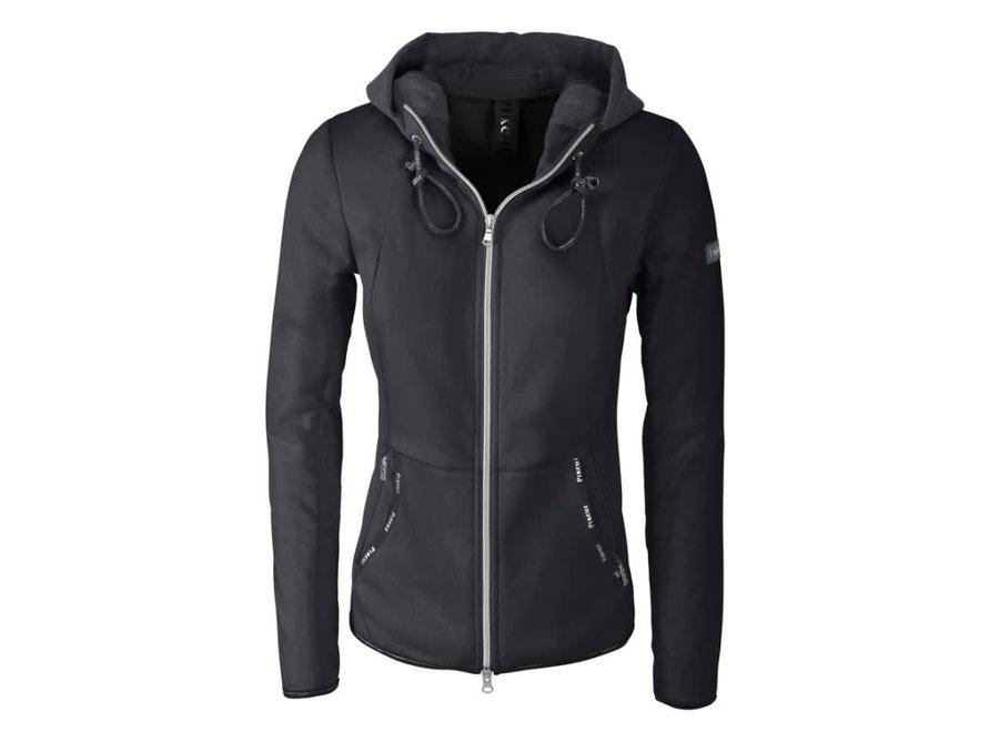 Fleece jacket Juliet Graphite Blue