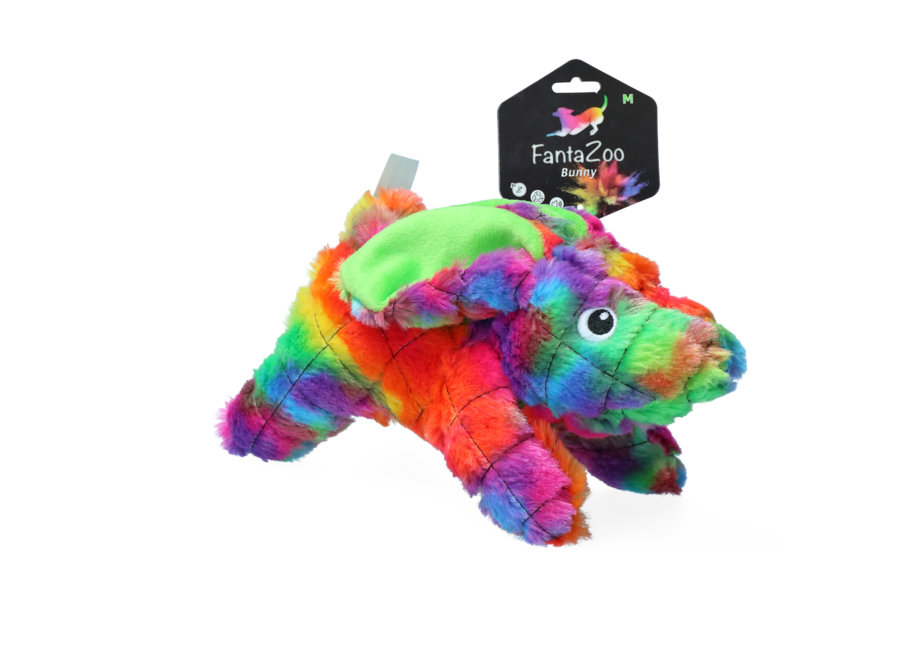 Hondenspeelgoed FantaZoo Bunny Medium