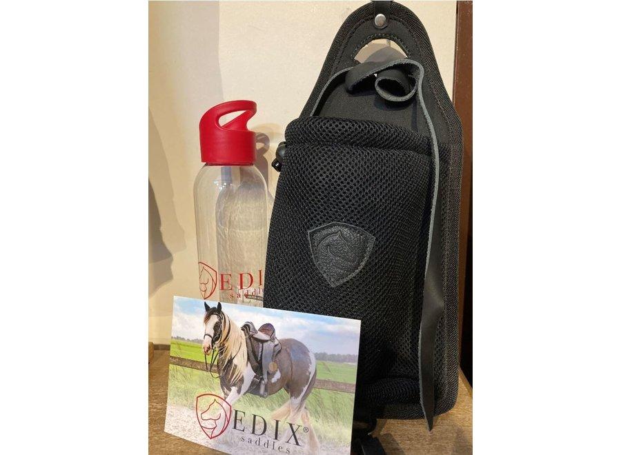 Edix Bottle Bag zadeltas met drinkbus