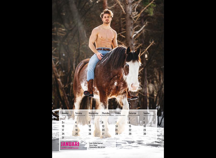 Horse and Hunk kalender 2022