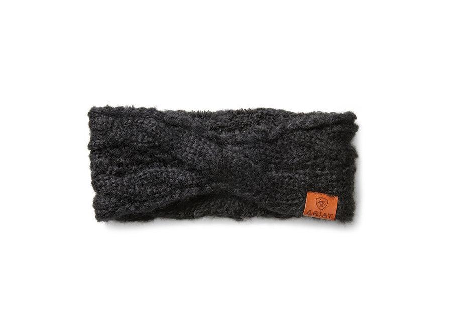 Cable Headband Black