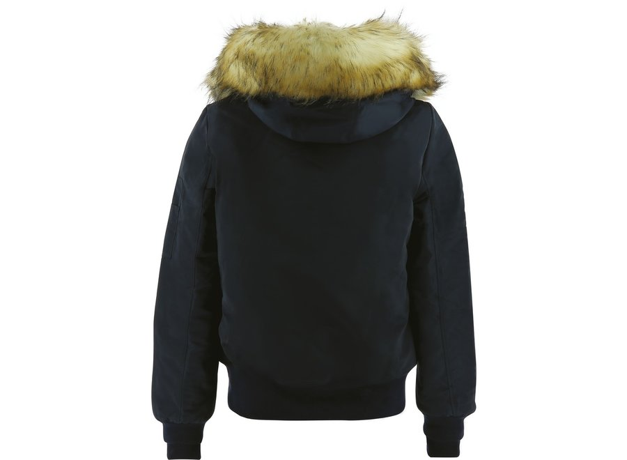 Bomber jacket Lyon Navy