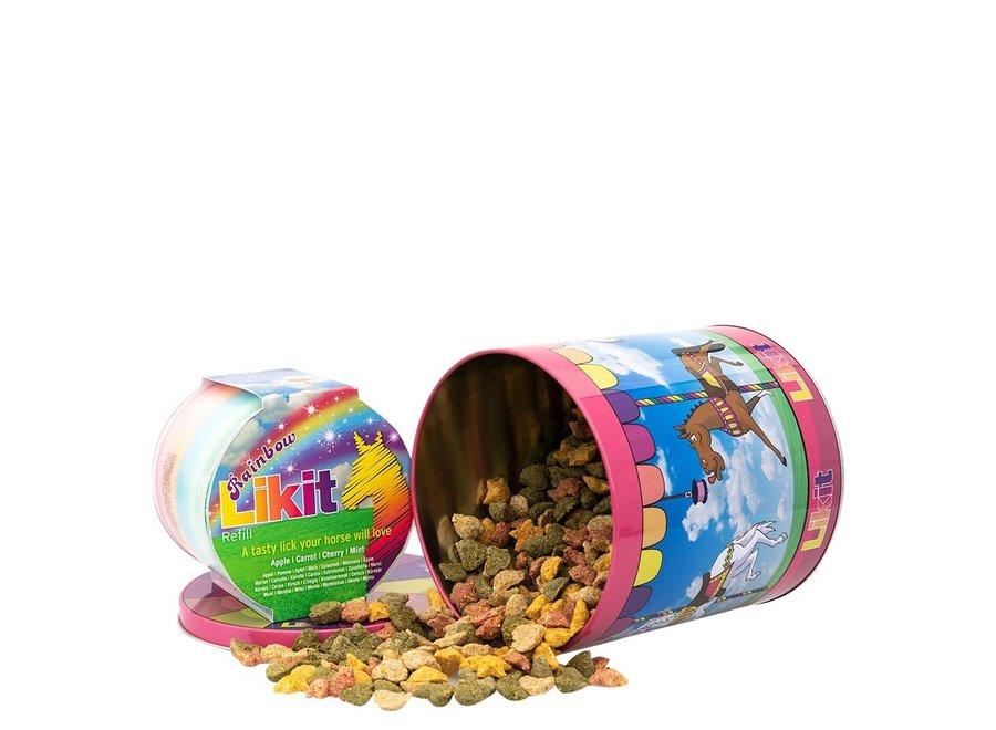 Likit Snacks Rainbow Carrousel Blik