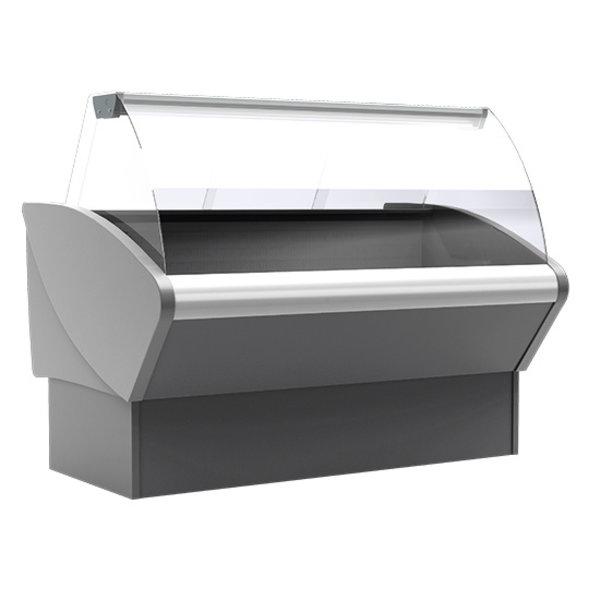 Koeltoonbank met onderkoeling en plexiglas schuifdeuren | 148x970x123(h)cm