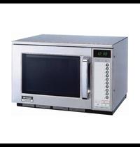 Sharp Sharp magnetron R-25AT | 20 Menu's | Geheel RVS | 2.1kW/h | 20 Liter | 230V |  450x580x350(h)mm