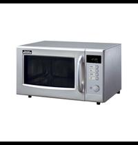Sharp Sharp magnetron R-15AM | 5 Standen | Geheel RVS | 1kW/h | 28 Liter | 230V | 520x424x309(h)mm