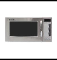 Sharp Sharp magnetron R-15AT | 20 Menu's | Geheel RVS | 1kW/h | 28 Liter | 230V | 520x424x309(h)mm