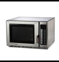 Menumaster Menumaster Magnetron RFS518TS   100 Menu's   Geheel RVS   1,8kW/h   34 Liter   230V   551x533x365(h)mm