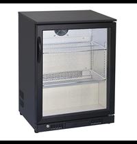 Gastro-Inox Gastro-Inox bardisplay   125 liter   Met glasdeur    600x520x865(h)mm