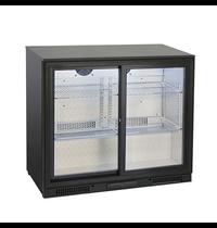 Gastro-Inox Gastro-Inox bardisplay | 175 liter | Met 2 schuifdeuren | 900x526x865(h)mm