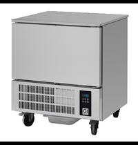 Gastro-Inox Gastro-Inox snelvriezer |  5x GN1/1 | Roestvrijstaal  | 790x730x880(h)mm