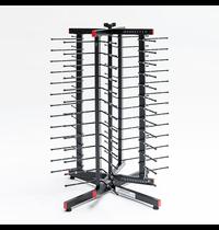 Jackstack Jackstack werktafelmodel bordenrek | Geschikt voor 52 borden | 480x480x890(h)mm