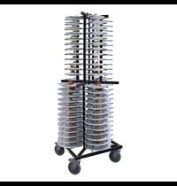 Jackstack Jackstack verrijdbaar bordenrek | Geschikt voor 104 borden | 600x600x1790(h)mm
