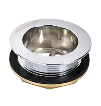 Gastro-Inox Gastro-Inox  afvoerplug Ø38mm | Geheel RVS