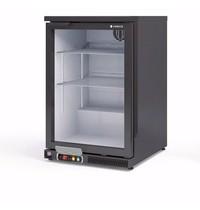 Coreco Barkoelkast Coreco ERH 150 Zwart | 130 liter | Met glasdeur | 620x520x850(h)mm