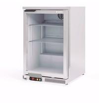 Coreco Barkoelkast Coreco ERH-I 150 RVS  | 130 liter | Met glasdeur | 620x520x850(h)mm