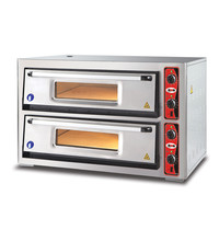 GMG GMG Pizzaoven |  6+6 30Øcm | 2 Kamers | 12 kW | 1190x800x760(h)mm