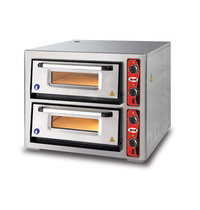 GMG GMG Pizzaoven |  4+4 Ø34cm | 2 Kamers | 10 kW | 970x890x760(h)mm