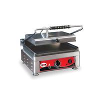 GMG GMG Contactgrill/Panini grill | Bovenplaat geribd/Onderplaat glad 36x27cm | 2,5kW | 410x500x300(h)mm