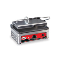 GMG GMG Contactgrill/Panini grill | Bovenplaat geribd/Onderplaat glad 45x27cm | 3,0kW | 510x500x300(h)mm