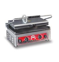GMG GMG Contactgrill/Panini grill | Bovenplaat geribd/Onderplaat glad | 45x27cm | Aparte boven en onder warmte |  3,0kW | 510x500x300(h)mm