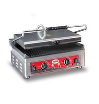 GMG GMG Contactgrill/Panini grill | Geribd 45x27cm | Aparte boven en onder warmte |  3,0kW | 510x500x300(h)mm