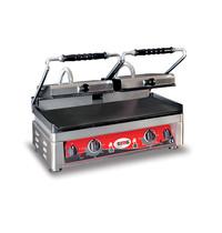 GMG GMG Contactgrill/Panini grill | Bovenplaat geribd/Onderplaat glad | 52x24cm | 3,5kW | 560x440x300(h)mm