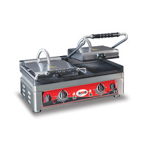 GMG GMG Contactgrill/Panini grill | Gekarteld 52x24cm | 3,5kW | 560x440x300(h)mm