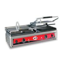 GMG GMG Contactgrill/Panini grill | Bovenplaat geribd/Onderplaat glad 36x27cm | 2,5kW | 820x500x300(h)mm