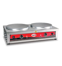 GMG GMG Crepes Bakplaat | 2 platen 2x Ø40cm |2kW | 900x520x240(h)mm