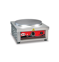 GMG GMG Crepes Bakplaat | 1 Plaat 1 x Ø40cm | 3kW | 450x520x240(h)mm