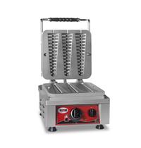 GMG GMG Wafelijzer | Wafel grootte 3x 23x6x2,4cm | 2,2 kW | 300x440x320(h)mm