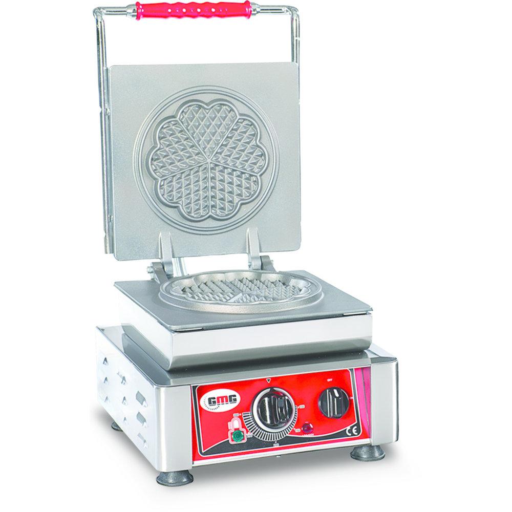 GMG Amore Wafelijzer Verwisselbaar | Wafel grootte  1x Ø16cm | 2,2 kW | 300x440x320(h)mm