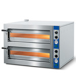 Mastro Mastro | Cuppone Pizzaoven | 4+4 35Øcm | 2 kamers  | 10,4kW | 1000x860x690(h)mm