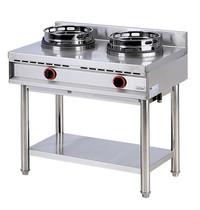 Mastro Gas Wok 600 Line Range Standaard | 2 Brander | 26kW | 900x600x850/950(h)mm