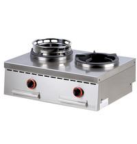 Mastro Gas Tafel Wok Range | 2 brander | 2x13kW | 800x600x300(h)mm