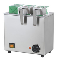 Mastro Tetra Pak warmer | 3 pakjes | 1,05 kW |  275x150x260(h)mm