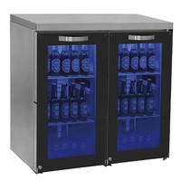 Mastro Barkoelkast | 180 flessen | Met glasdeur | 920x500x875(h)mm