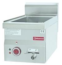 Diamond Bain Marie elektrisch  Top   3x GN 1/4   1,5 kW/h   Met aftapkraan   300x600x280/400(h)mm