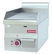 Diamond Bakplaat/Grillplaat -Top- | Vlak 295x470mm 14dm2 | 3kW | 300x600x280/400(h)mm