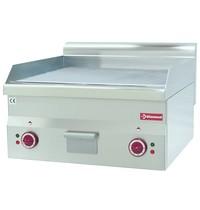 Diamond Bakplaat/grillplaat Hard Verchroomd - Top-    Vlak 595x470mm 28 dm2   6kW   600x600x280/400(h)mm