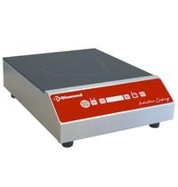 Diamond Inductieplaat   2,5kW/h   Met tactiele toetsen   280x360x105(h)mm