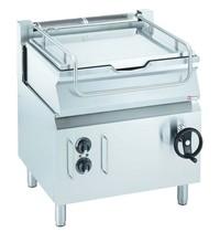 Diamond Kookketel kantelbaar elektrisch RVS op kast | 60 liter | 9,75 kW/h | 800x700x850/920(h)mm