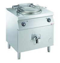 Diamond Ronde kookketel op gas met directe verwarming en onderstel  | 60 liter |  0,2 kW/h | 800x700x850/920(h)mm