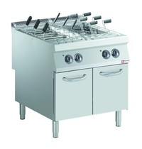Diamond Pastakoker elektrisch op meubel (zonder korven) | GN 1/1 | 20 kW/h | 800x900x850/920(h)mm