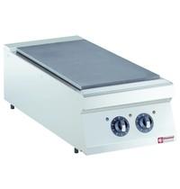 Diamond Kookplaat elektrisch 1/2 module Top | 2x 3,5 kW/h | 400x900x250/320(h)mm