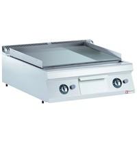 Diamond Bakplaat/Grillplaat Hard verchroomd | Bakplaat 744x647mm | 20kW | 800x900x250/320(h)mm